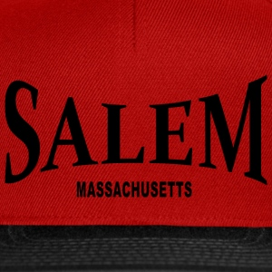 Salem Massachusetts – schwarz - Snapback Cap
