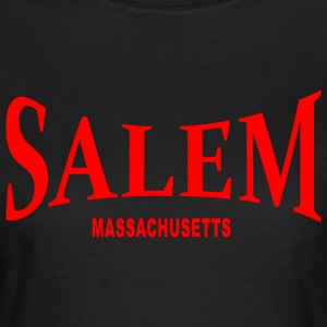 Salem Massachusetts – rot - Frauen T-Shirt
