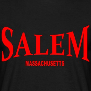 Salem Massachusetts – rot - Männer T-Shirt