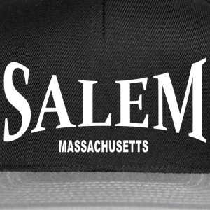 Salem Massachusetts – weiß - Snapback Cap