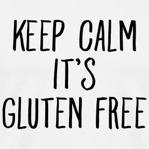 Keep Calm It\'s Gluten Free T-Shirts - Männer Premium T-Shirt