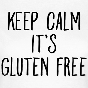 Keep Calm It\\\'s Gluten Free T-shirts - Vrouwen T-shirt