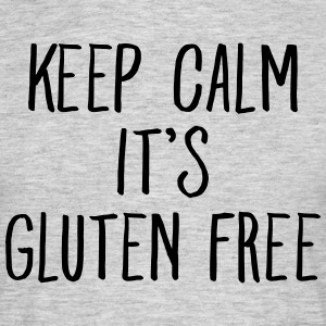 Keep Calm It\'s Gluten Free T-Shirts - Männer T-Shirt