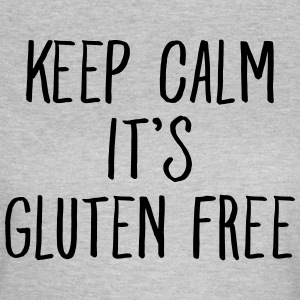Keep Calm It\\\'s Gluten Free Camisetas - Camiseta mujer