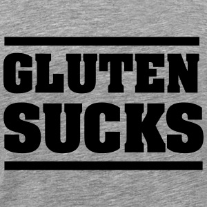Gluten Sucks T-Shirts - Men's Premium T-Shirt