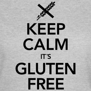 Keep Calm It´s Gluten Free Camisetas - Camiseta mujer