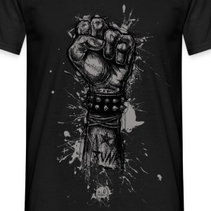 Punk fist - T-shirt Homme