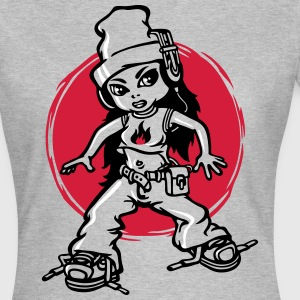 Hip-hop girl - Frauen T-Shirt