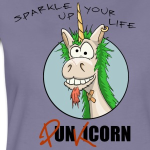 Unicorn Punkicorn Sparkle T-Shirts - Frauen Premium T-Shirt