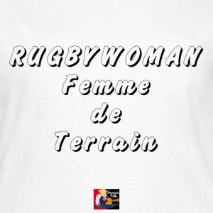Rugbywoman Femme de terra