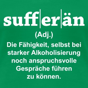 Sufferän T-Shirts - Frauen Premium T-Shirt