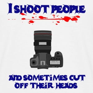 Shoot People Camera - Men's T-Shirt