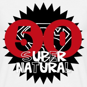 50 Super Natural - Männer T-Shirt