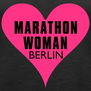 Marathon Woman Berlin - Frauen Premium Tank Top