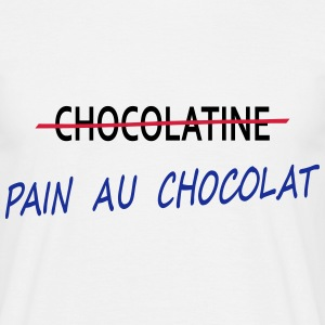 T-Shirt PAIN AU CHOCOLAT - T-shirt Homme
