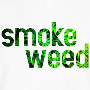 smoke weed Tee shirts - T-shirt Homme col V