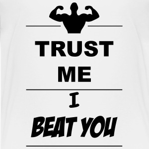 Trust me I beat you 1c Shirts - Teenage Premium T-Shirt