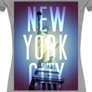 New York Blue T-Shirts - Frauen Premium T-Shirt
