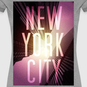 New York Red T-Shirts - Frauen Premium T-Shirt