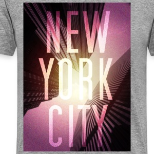 New York Red T-Shirts - Männer Premium T-Shirt