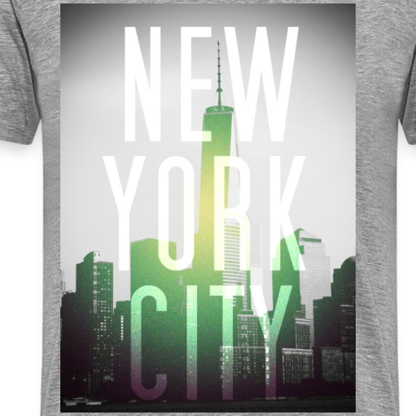 New York Green T-Shirts - Männer Premium T-Shirt