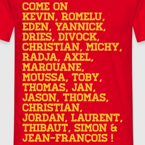 Come on Devils belgium - Mannen T-shirt