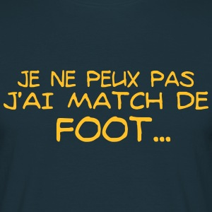 match de foot Tee shirts - T-shirt Homme
