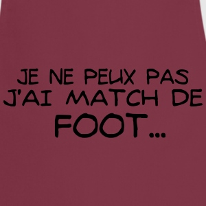 match de foot Tabliers - Tablier de cuisine