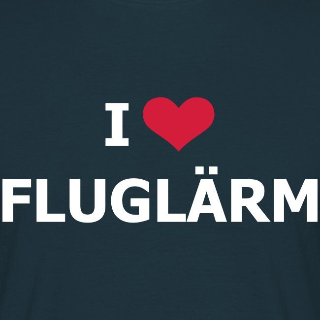 FSC I Love Flugflärm Shirt