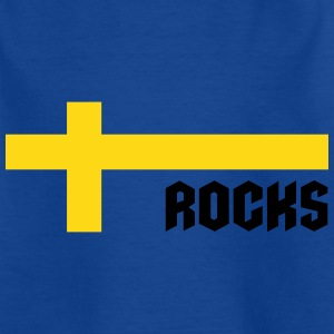 Sweden rocks T-Shirts - Kinder T-Shirt