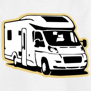 Camper Wohnmobil (3 color) Shirts - Teenage T-shirt
