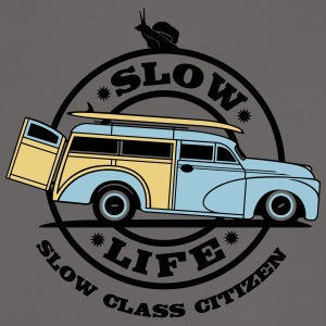 WOODY SLOW LIFE CITIZEN 2 - T-shirt contraste Femme