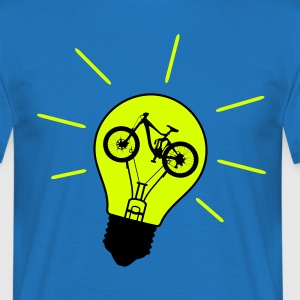 Glühbirne Bike Bulb Downhill Enduro Freeride fully T-Shirts - Männer T-Shirt