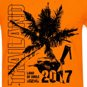 Thailand 2017 Tee shirts - T-shirt contraste Homme