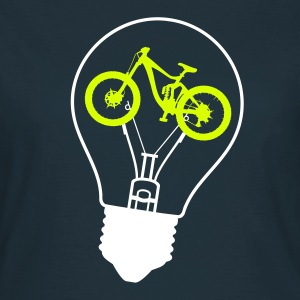 Glühbirne Bike Bulb Downhill Enduro Freeride MTB T-Shirts - Frauen T-Shirt