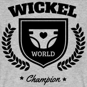 Wickel World Champion Camisetas - Camiseta ecológica hombre