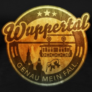 Wuppertal, distressed T-Shirts - Frauen Premium T-Shirt