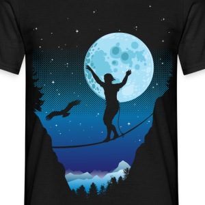 Moonnlight Slackline - Men's T-Shirt