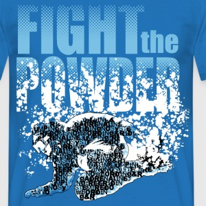 Fight the powder - Men's T-Shirt