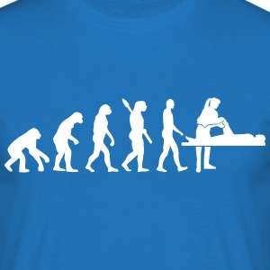 Evolution Physiotherapeut T-Shirts - Männer T-Shirt