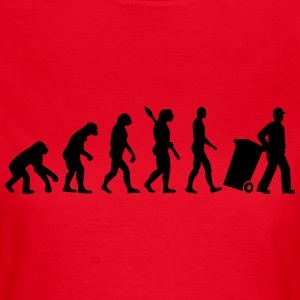 Evolution Müllmann T-Shirts - Frauen T-Shirt
