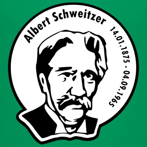 Albert Schweitzer (rund, 2 color) T-Shirts - Teenager Premium T-Shirt