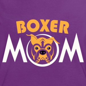 Boxer mom - Women's Ringer T-Shirt