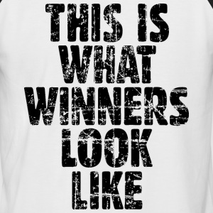 This is what winners look like T-Shirts - Männer Baseball-T-Shirt