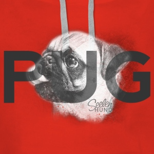 Pug - The Original Pullover & Hoodies - Frauen Premium Hoodie