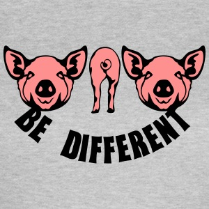 be different anders sein schwein T-Shirts - Frauen T-Shirt