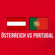 Match-Shirt Österreich vs Portugal, Paris, 18.06.2016