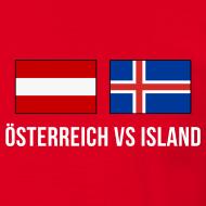 Match-Shirt Österreich vs Island, St. Denis, 22.06.2016