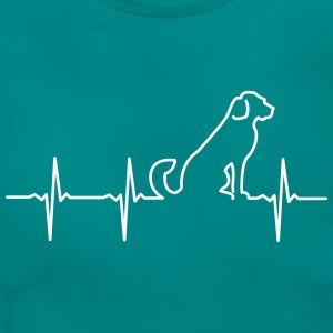 Dog - Heartbeat T-Shirts - Frauen T-Shirt