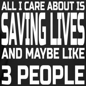 Care about saving lives T-Shirts - Women's Organic T-shirt